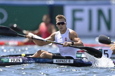 Kopasz Bálint olimpiai bajnok K-1 1000 méteren, Kozák Danutáék bronzérmesek K-2 500 méteren