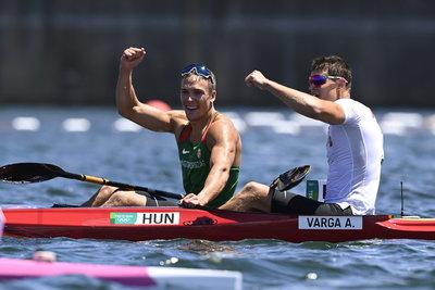 Kopasz Bálint és Varga Ádám történelmi kettős győzelme a keddi versenynap legnagyobb szenzációja