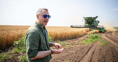 Az országosnál magasabb termésátlagokat mutat fel a mezőhegyesi ménesbirtok