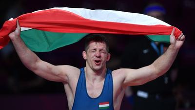 Lőrincz Tamás olimpiai bajnok