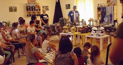 Star Wars Sportkupát tartottak a hétvégén Katádfán