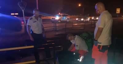 Megszólalt a rendőr, aki vonat elől mentett embert az esztergomi vasúti átjáróban
