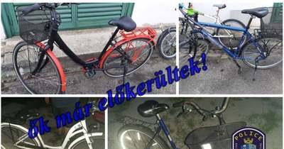 A kecskeméti rendőrök elfogták a kerékpártolvajokat