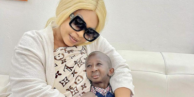 Gúnyolják, támadják őket: törpenövésű férfiba szeretett bele az afrikai Kim Kardashian - Fotók