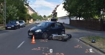 Három békéscsabai balesethez is riasztották a rendőröket