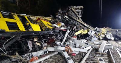 Borzasztó vonatbaleset történt: 2 ember meghalt, 40 sérült is van