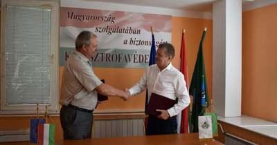 Meghosszabbította együttműködését a Magyar Közút és a katasztrófavédelem