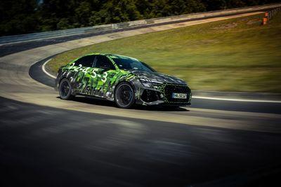 Már az Audi RS 3 a leggyorsabb kompakt autó a Nürburgringen