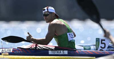 Tótka Sándor olimpiai bajnok!