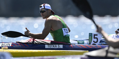 A kajakos Tótka Sándor aranyérmet nyert a 200 méteres sprintszámban