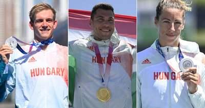 Újabb három érem a magyaroké! Ismét van olimpiai bajnokunk