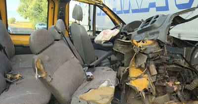 Csoda, hogy túlélte a kápolnai balesetet: magától kiszállt a roncsból a sofőr (videó)
