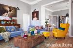 Belvárosi eklektika: családi otthon egy nagypolgári lakásban