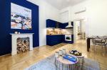 Régi és új harmóniája: modern belvárosi lakás 42 négyzetméteren